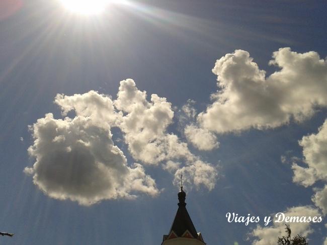 Cielo primaveral, Rusia