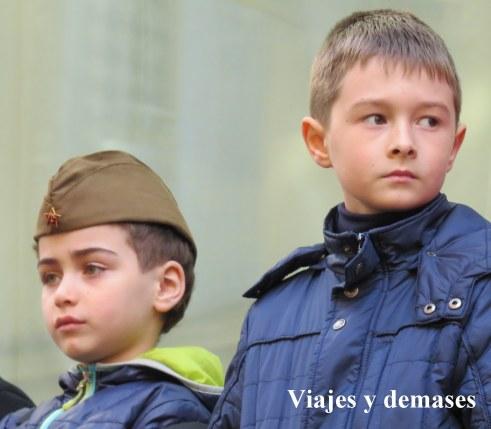 Niños rusos 9 de mayo