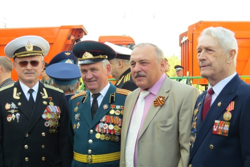 Veteranos de guerra, 9 de mayo Rusia