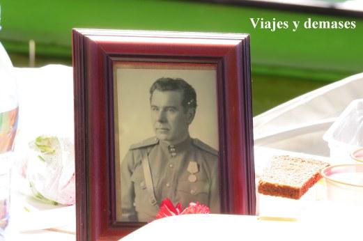 Veterano de guerra, 9 de mayo Rusia
