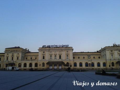 Estación de trenes de Cracovia