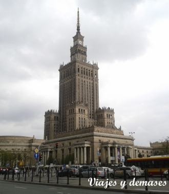 Palacio de la Cultura y de las Ciencias, Varsovia