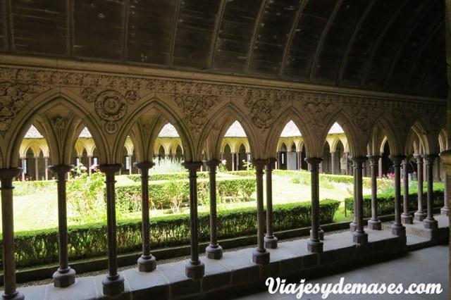 Me gustó mucho la decoración de los pilares y de los arcos.