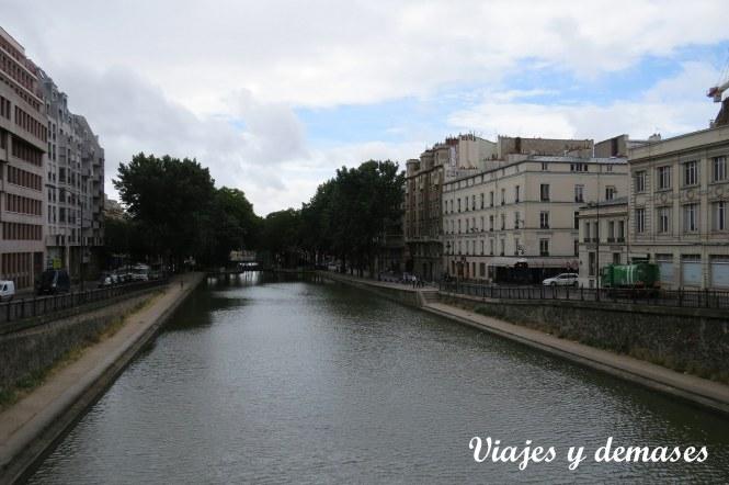 Paseando por París: el canal San Martin