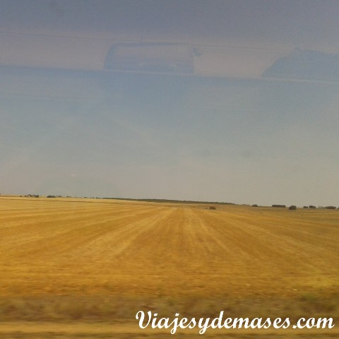 Esta foto la tomé desde el tren unos minutos antes de llegar a nuestro destino.