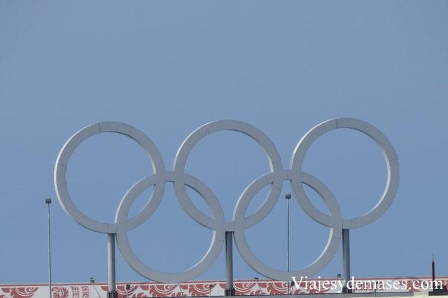 Anillos olímpicos Sochi