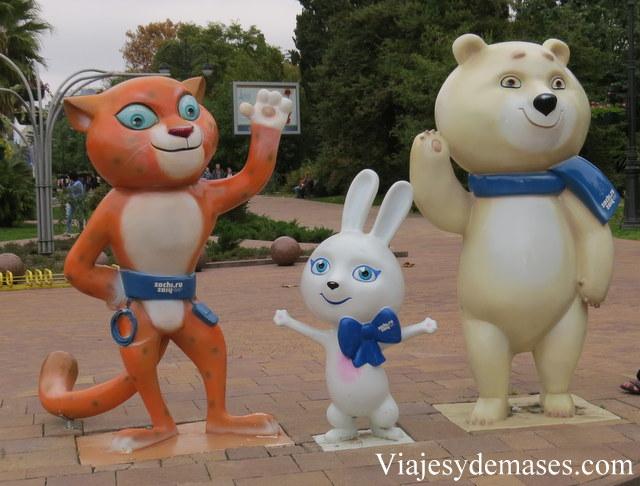 Mascotas olímpicas Sochi 2014