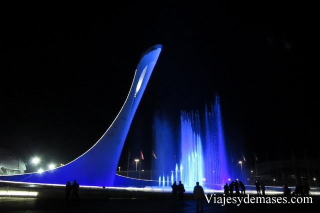 Antorcha olímpica Sochi 2014