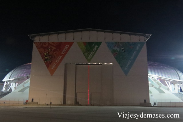 estadio olímpico Sochi 2014