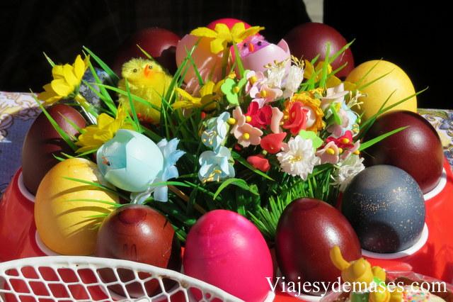 Huevos de pascua ortodoxa