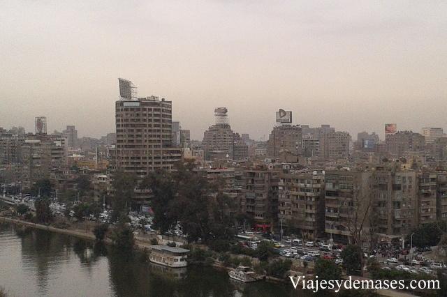 Vista del Nilo de día.