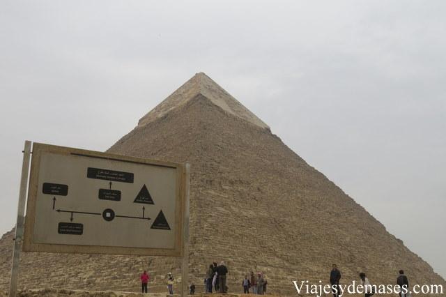 Pirámide de Kefrén.