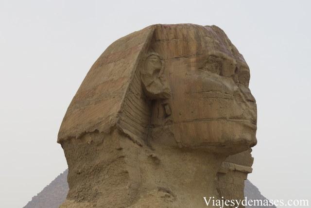 La Gran Esfinge, Giza. Detalle