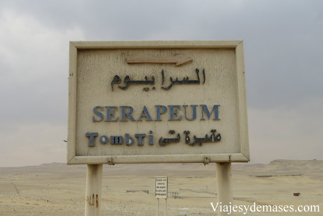 Serapeum, Saqqara
