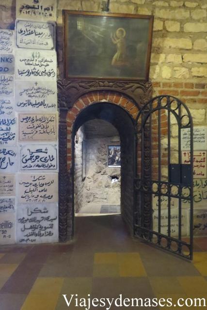 Cueva de San Jorge, Old Cairo.