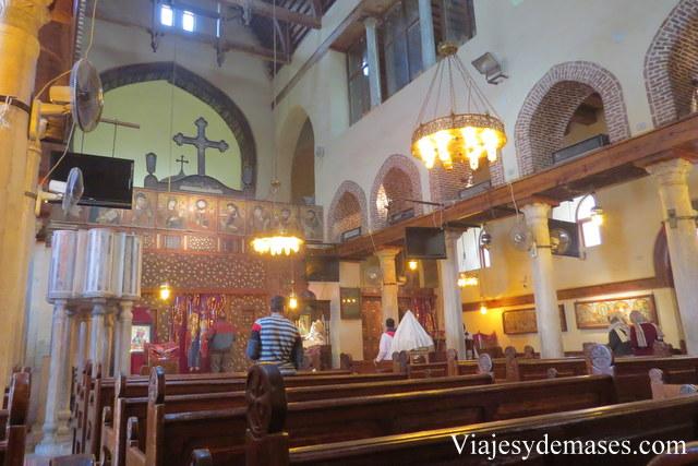Iglesia de Santa Bárbara, Barrio Copto.
