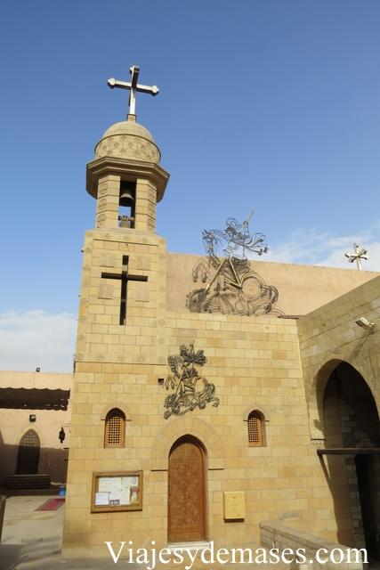 Convento de San Jorge, Barrio Copto