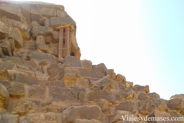 Pirámide acodad, Dashur, Egipto.