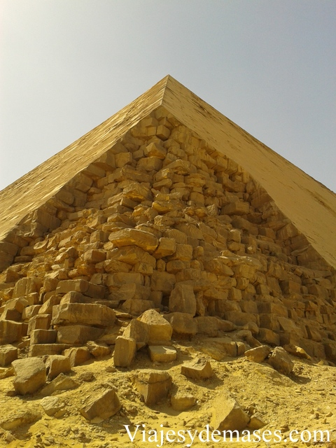 Pirámide acodada, Dashur, Egipto.