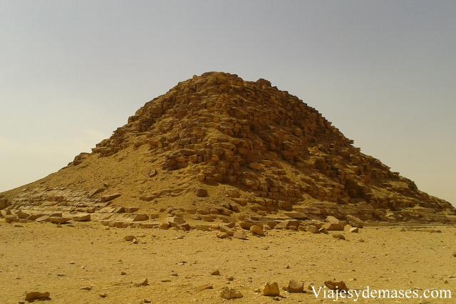 Esta pirámide perteneció a una reina.