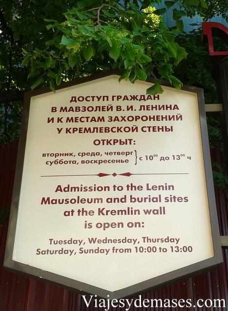 Mausoleo de Lenin. Moscú