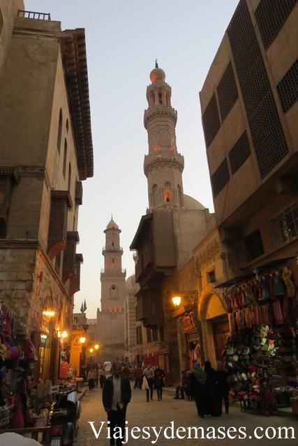 Mezquita Bazar del Cairo, Egipto