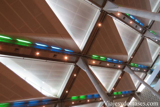 Detalle del techo.