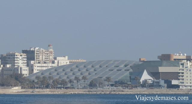 Así se ve el edificio desde la citadela.