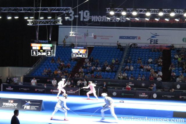 Campeonato mundial de esgrima, Moscú 2015