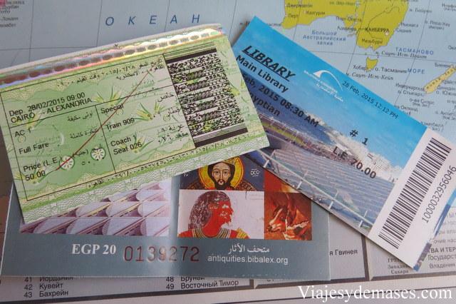 Tickets de ingreso