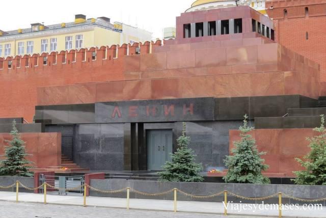 Mausoleo de Lenin, Moscú