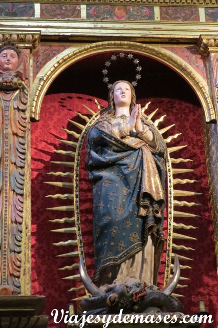 Catedral de Segovia, España.