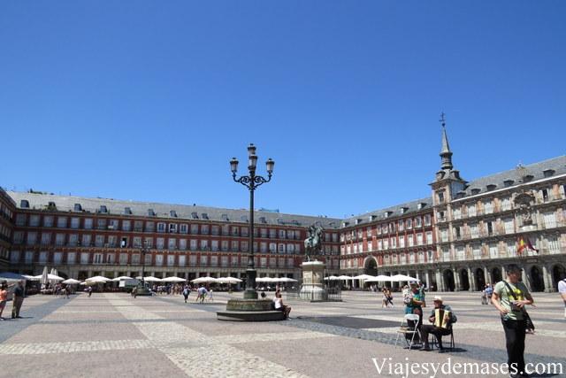 La Plaza Mayor.