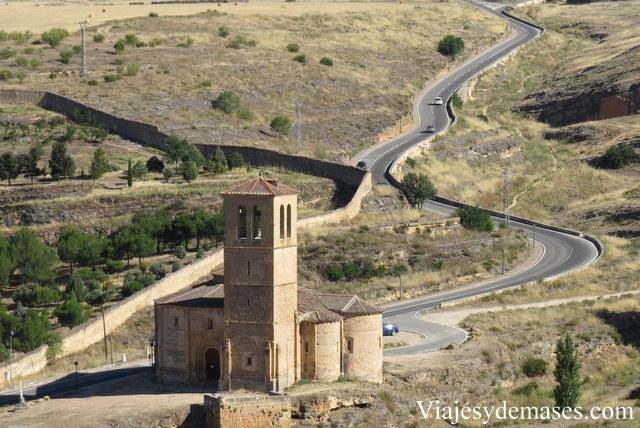 Vista desde el techo del Alcázar.