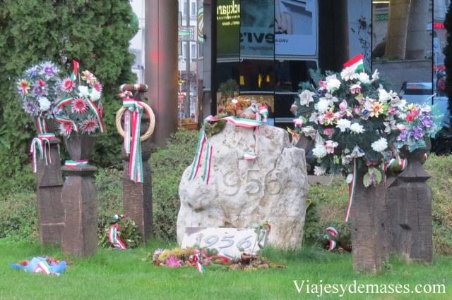 Monumento Revolución de 1956, Budapest