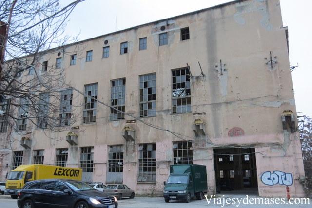 Edificio abandonado, Budapest