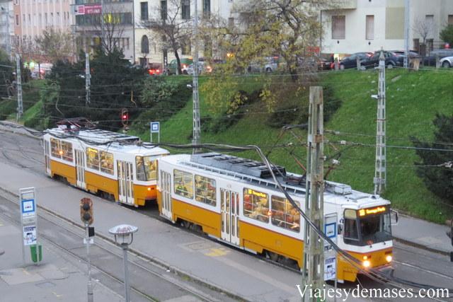 Tranvía, Budapest.