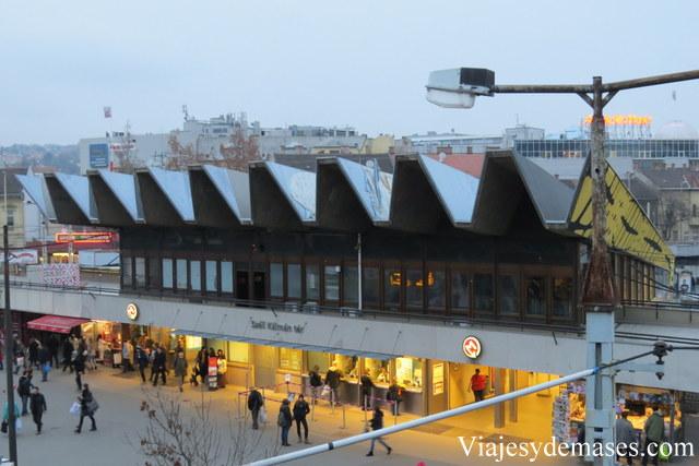 Estación intermodal en Budapest