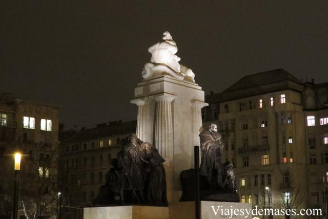 Monumento a Tsza István, Budapest