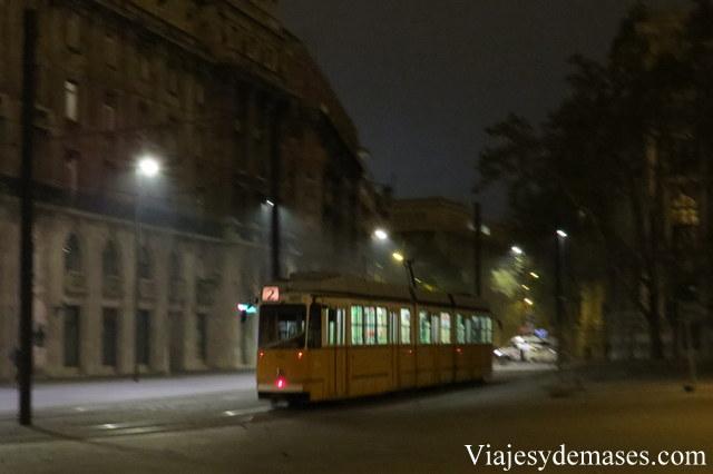 Tranvía de Budapest.