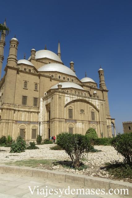 Mezquita de Alabastro, El Cairo.