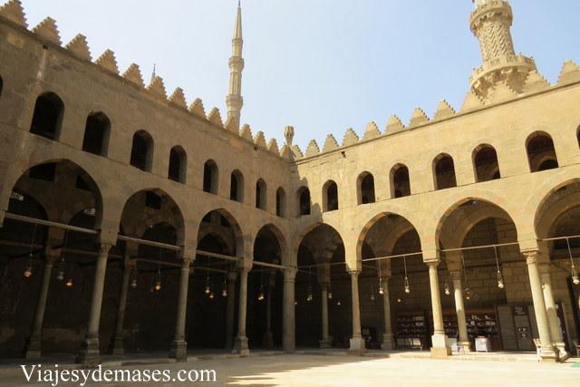 Mezquita Al Nasir Mohammad Ibn Qalaun, El Cairo