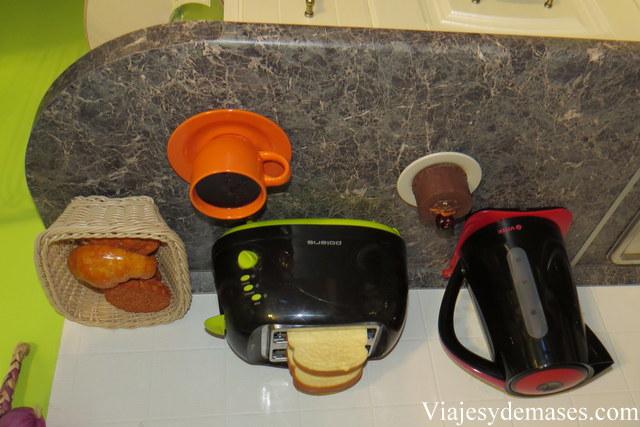 El pan y el café no se caen...