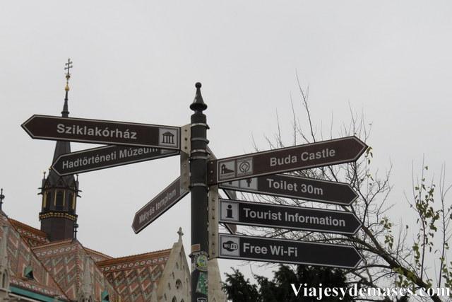 Budapest, señales