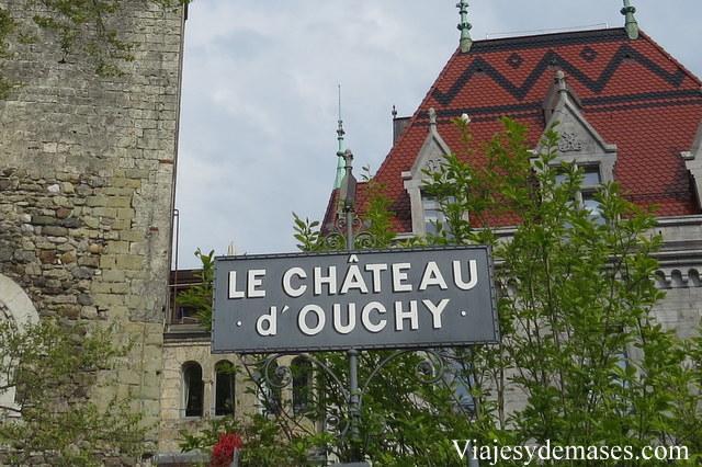 Le chàteau d'Ouchy, Lausanne