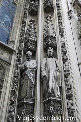 El frotis de la catedral fue lo que más me gustó.