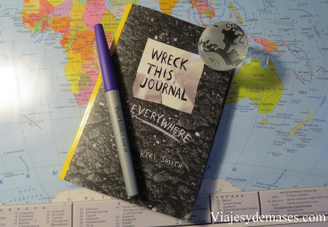 Wreck this journal, everywhere, Keri Smith