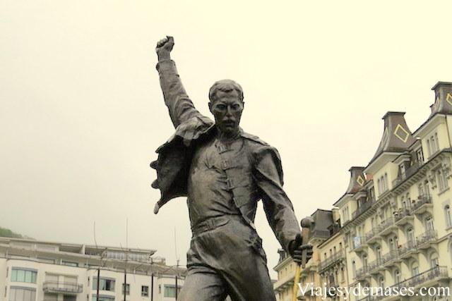Freddie Mercury en Montreux, Suiza