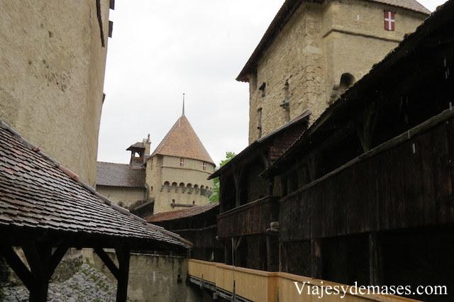 Chateau de Chillon, Montreux, Suisse