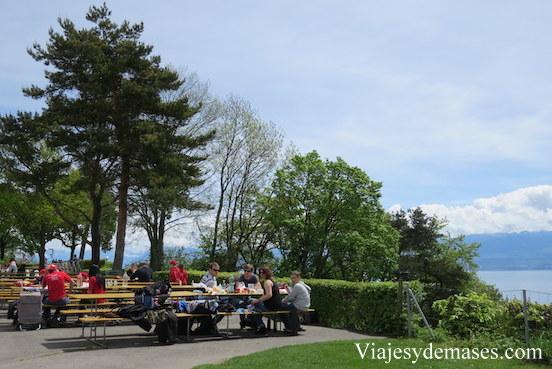 Zona de picnic.